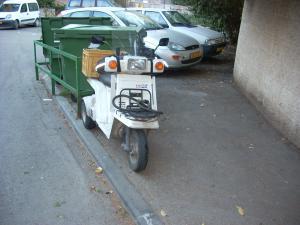moped in israel